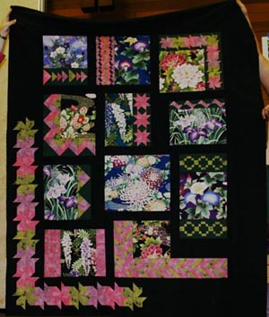 The donation quilt from the Blue Mountain Quilters' Guild to be auctioned at the BACI Ball: Global Fusion event on Nov. 16.
