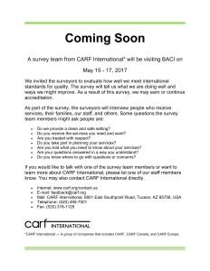 CARF - Coming Soon